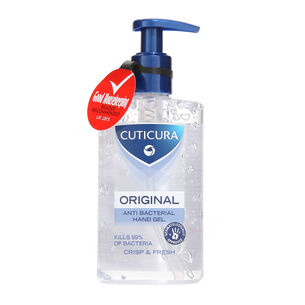 Cuticura Anti Bacterial Hand Gel Crisp & Fresh 250ml, , large