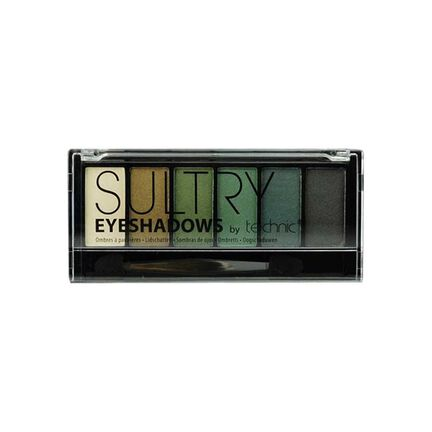 Technic Sultry Eyeshadows Pallette 6 x 1.2g, , large