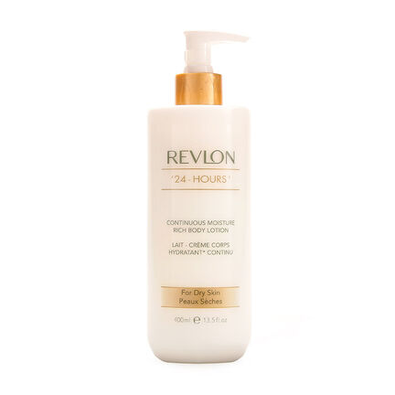 Revlon 24 Hours Rich Body Lotion For Dry Skin 400ml, , large