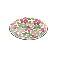 Cello Petals Candle Plate, , large