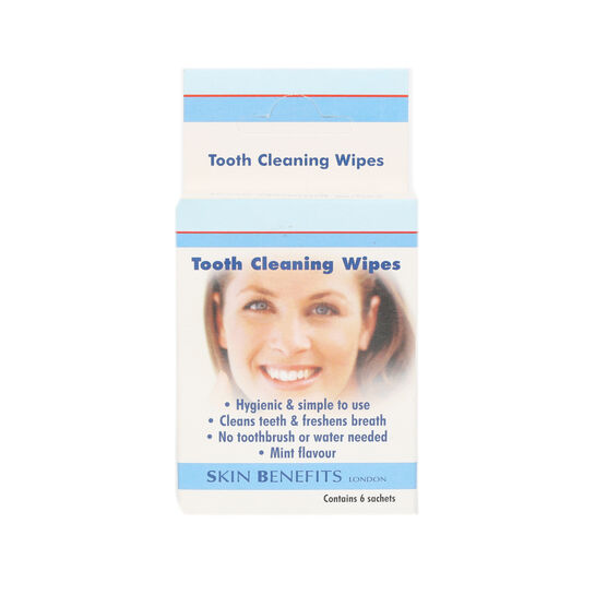 Skin Benefits Tooth Cleaning Wipes, , large