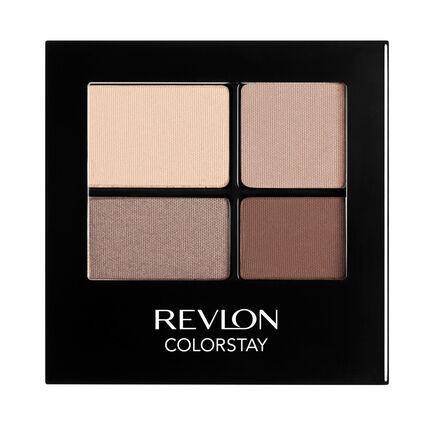 Revlon ColorStay 16 Hour Eyeshadow Quad 4.8g, , large