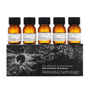 elemental herbology Five Element Aromatherapy Oil Gift Set, , large