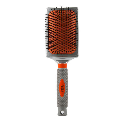Fudge Large Paddle Brush Grey, , large