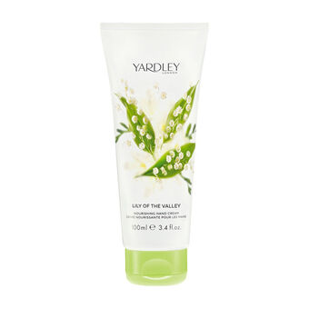 Yardley Lily of the Valley Nourishing Hand Cream 100ml, , large