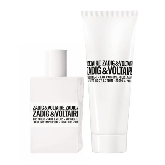 Zadig & Voltaire This is Her! Eau De Parfum 50ml + Free Gift, , large