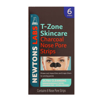 T Zone Skincare Charcoal Nose Pore 6 Strips, , large