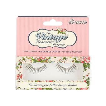 The Vintage Cosmetic Company Gracie False Eyelashes, , large