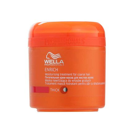 Wella Enrich Moisturising Treatment Coarse Hair 150ml, , large
