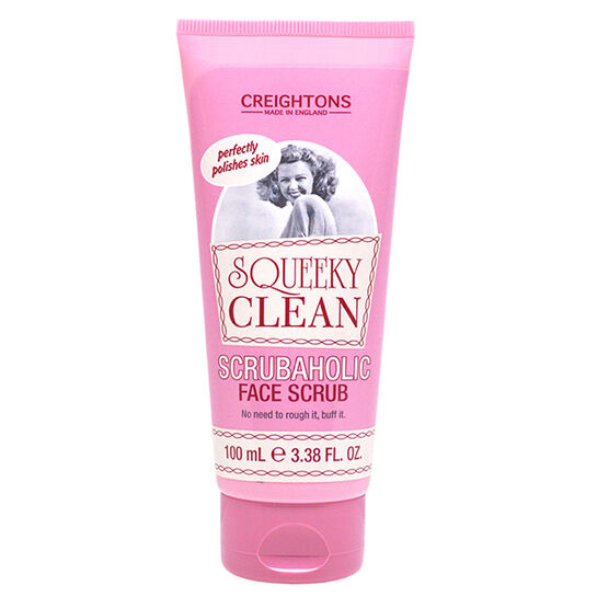 Squeeky Clean Scrubaholic Face Scrub 100ml, , large
