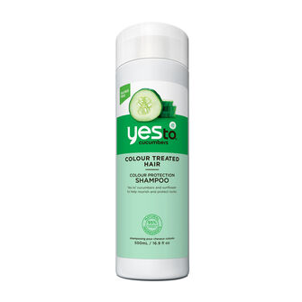 Yes To Cucumber Colour Protection Shampoo 500ml, , large