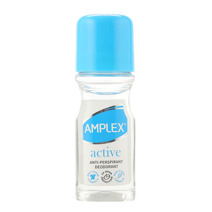 Amplex Antiperspirant Roll On 60ml Active, , large