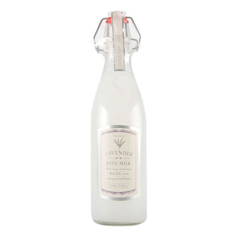 Creative Colours Lavender Classique Bottle Bath Milk 530ml, , large