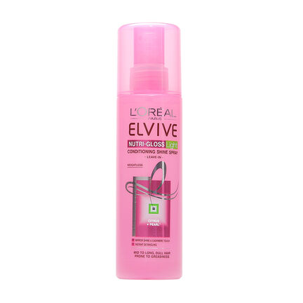 L'Oréal Elvive Nutri Gloss Conditioning Spray 200ml, , large