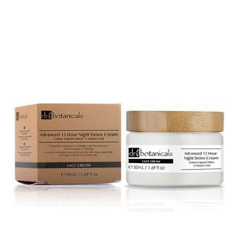Dr Botanicals Advanced 12 Hour Night Detox Cream 50ml, , large