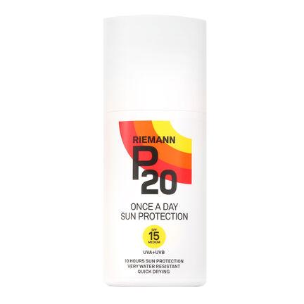 Riemann P20 Once A Day Sun Protection Spray SPF 15 200ml, , large