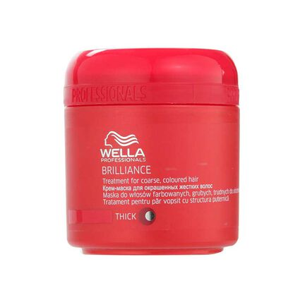 Wella Brilliance Treatment for Coarse Coloured Hair 150ml, , large