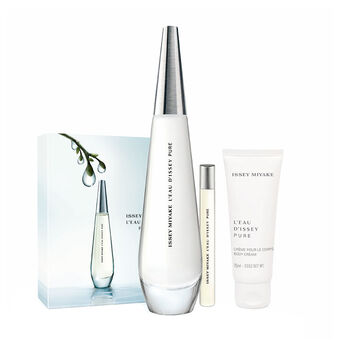 Issey Miyake L'Eau D'Issey Pure EDT Spray 90ml + Free Gift, , large