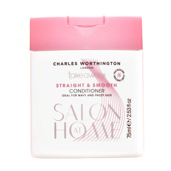 Charles Worthington Straight & Smooth Conditioner 75ml, , large