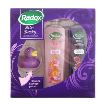 Radox Relax Ducky Gift Set 2 x 500ml, , large