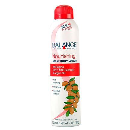Balance Active Formula Nourishing Spray Body Lotion 200ml, , large