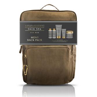 Baylis & Harding Skin Spa Amber & Sandalwood Backpack Set, , large