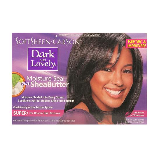 Dark And Lovely Moisture Seal Plus Shea Butter Super Kit, , large