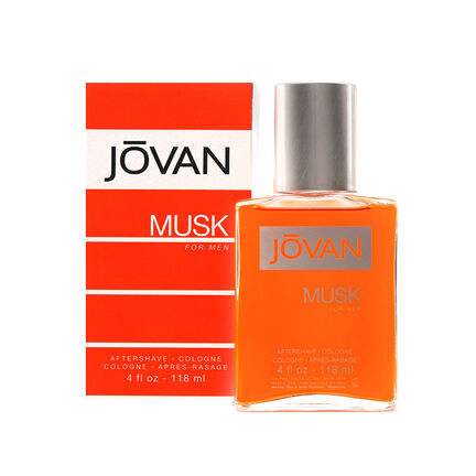 Coty Jovan Musk Aftershave Cologne Splash 118ml, , large