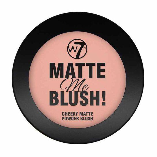 W7 Matte Me Blush 8g, , large