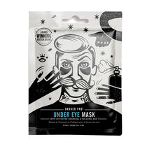 BARBER PRO Under Eye Mask With Activated Charcoal, , large