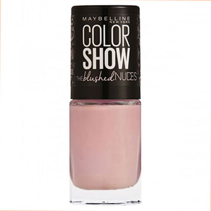 Maybelline Color Show Blushed Nudes Nail Polish 7ml, , large