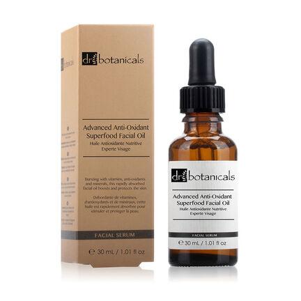Dr Botanicals Advanced Anti Oxidant Superfood Facial Oil 30m, , large