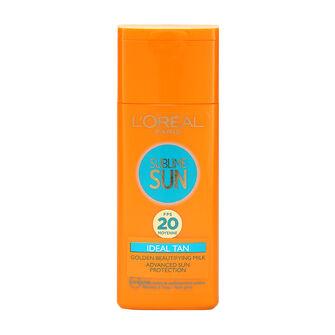 L'Oréal Sublime Sun Ideal Tan Lotion SPF20 200ml, , large
