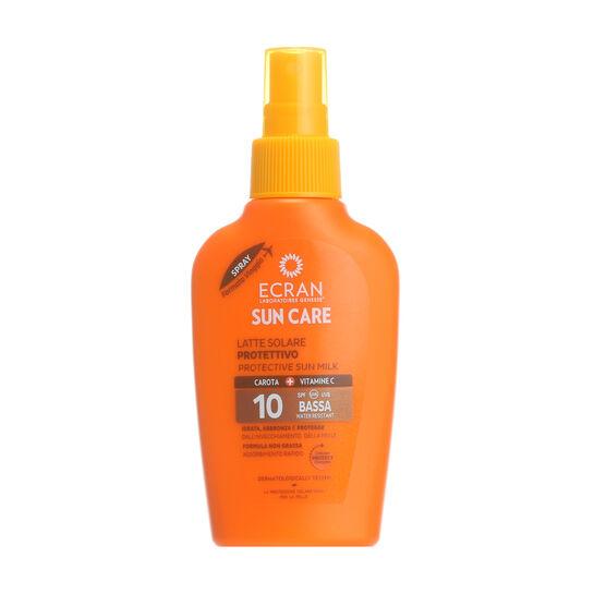 Ecran Travel Size Protective Sun Milk Spray SPF10 100ml, , large