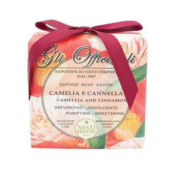 Nesti Dante Gli Officinali Camelia & Cinnamon Soap 200g, , large