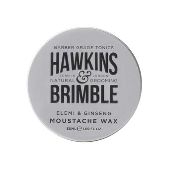 Hawkins & Brimble Moustache Wax 50ml, , large