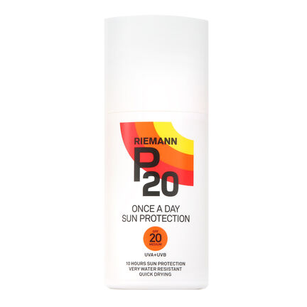 Riemann P20 Once A Day Sun Protection Lotion SPF20 200ml, , large