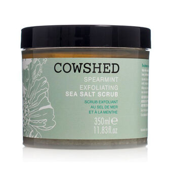 Cowshed Spearmint Exfoliating Sea Salt Scrub 350ml, , large
