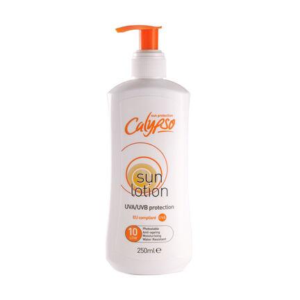 Calypso Sun Lotion SPF 10  Pump Bottle 250ml, , large