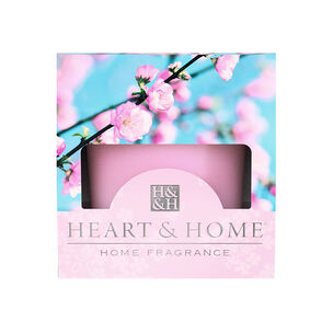 Heart & Home Votive Candle Pink Blossom 57g, , large