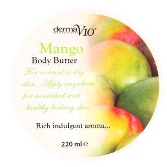DermaV10 Body Butter Mango 220ml, , large