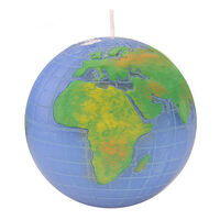 Levin Brothers Globe Candle Colour, , large