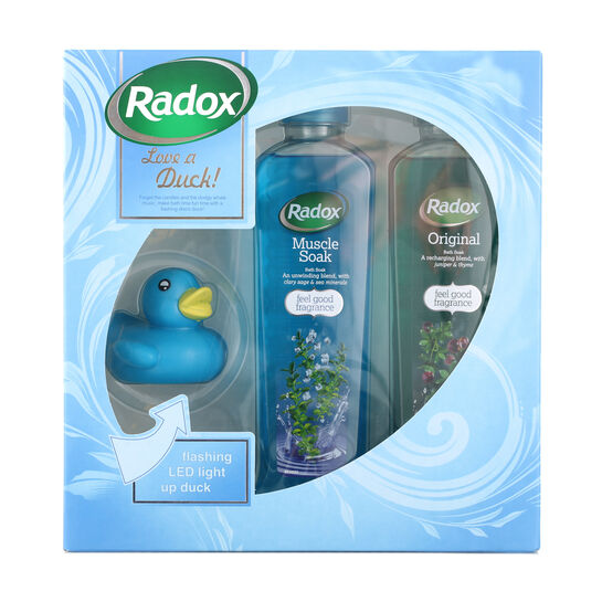 Radox Love a Duck Gift Set 2 x 500ml, , large