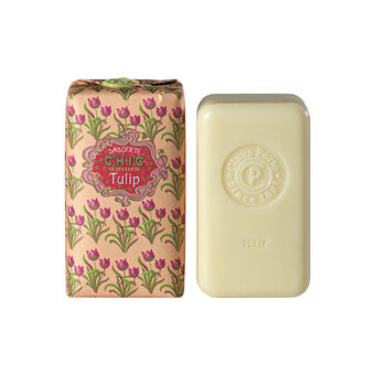 Claus Porto Chic Tulip Soap Bar With Wax Seal 150g, , large