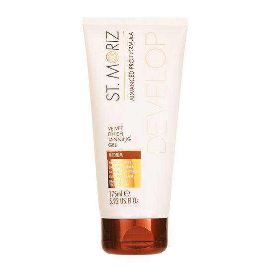 St Moriz Advanced Velvet Finish Tanning Gel Medium 175ml, , large