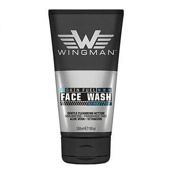 Wingman Sensitive Face Wash 150ml, , large