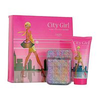 Laurelle Parfums City Girl New York Gift Set 100ml, , large