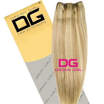DREAM GIRL Euro Weave Hair Extensions 18 Inch P10/613, , large