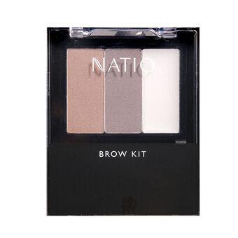 Natio Cosmetics Brow Kit, , large