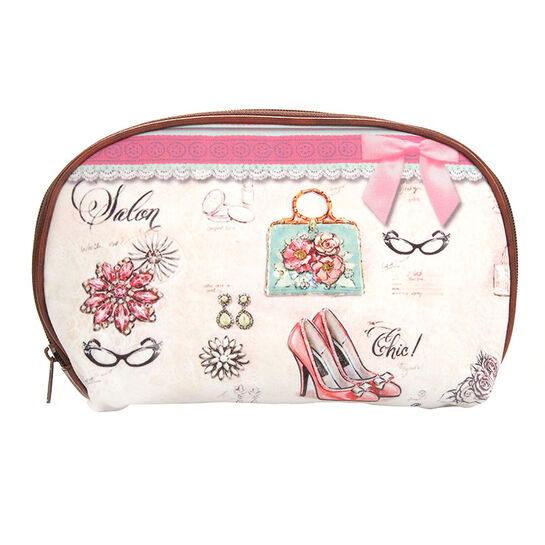 Royal Vintage Chic Make Up Bag Chic, , large